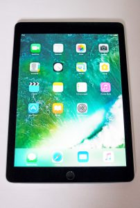 Apple iPad Air 2 mieten Ansicht oben