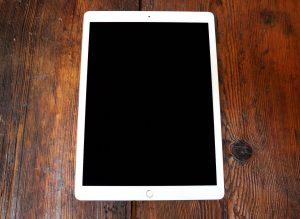 Apple iPad Pro 12.9 2. Generation mieten Ansicht oben