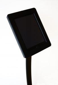 Apple iPad Tablet Infoständer leihen Ansicht Gehäuse Seite